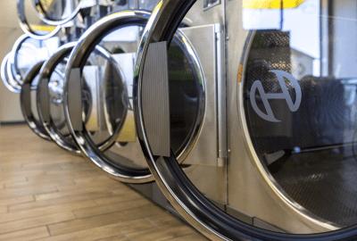 Huebsch commercial laundry equipment